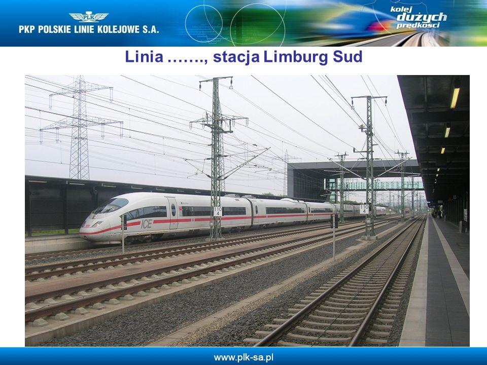 Linia ……., stacja Limburg Sud