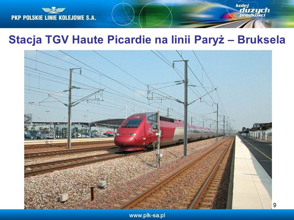 Stacja TGV Haute Picardie na linii Paryż – Bruksela
