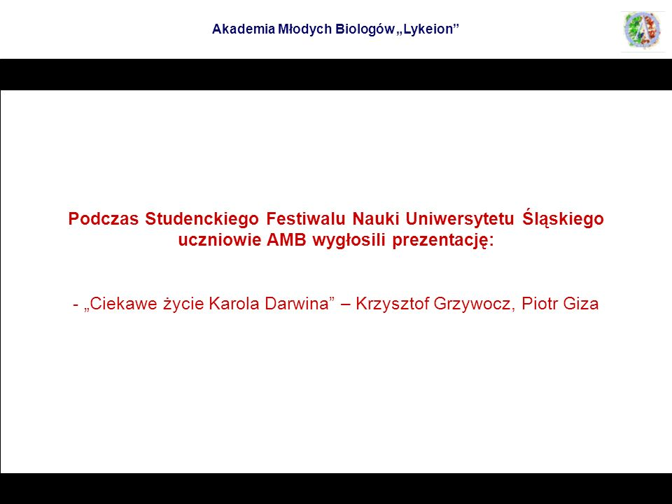 Podczas Studenckiego Festiwalu Nauki Uniwersytetu Śląskiego