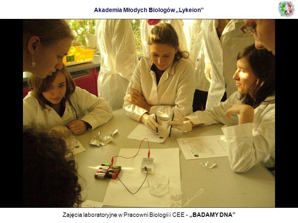 """Akademia Młodych Biologów """"Lykeion"""