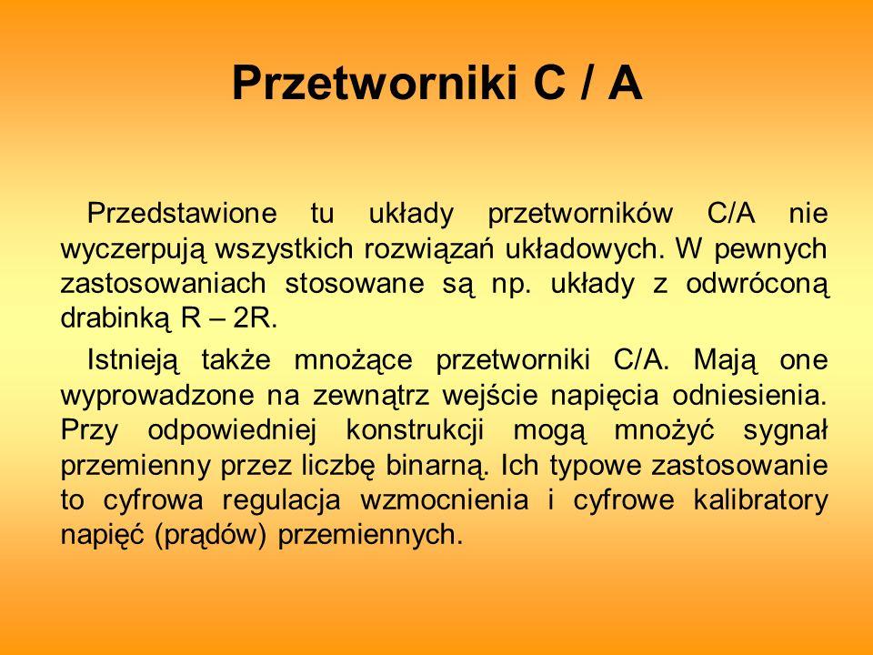 Przetworniki C / A
