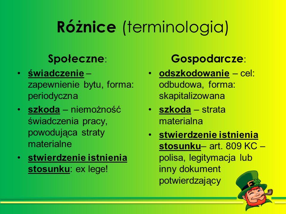 Różnice (terminologia)