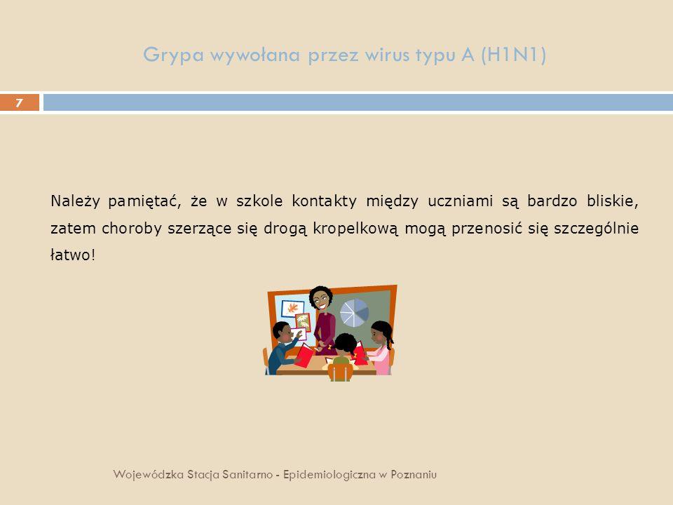 Grypa wywołana przez wirus typu A (H1N1)
