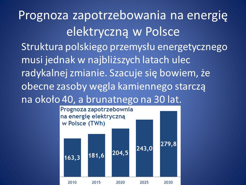 Prognoza zapotrzebowania na energię elektryczną w Polsce