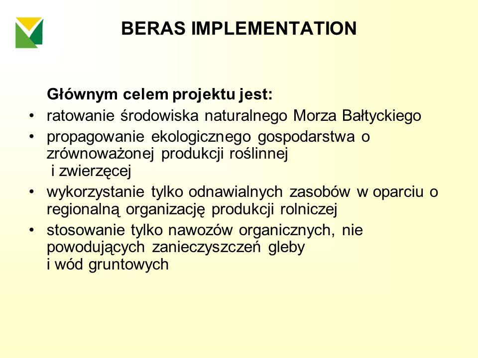 BERAS IMPLEMENTATION Głównym celem projektu jest:
