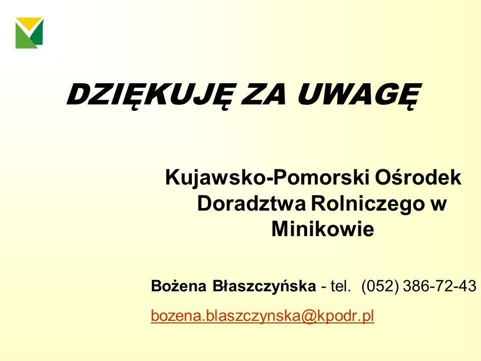 Kujawsko-Pomorski Ośrodek Doradztwa Rolniczego w Minikowie