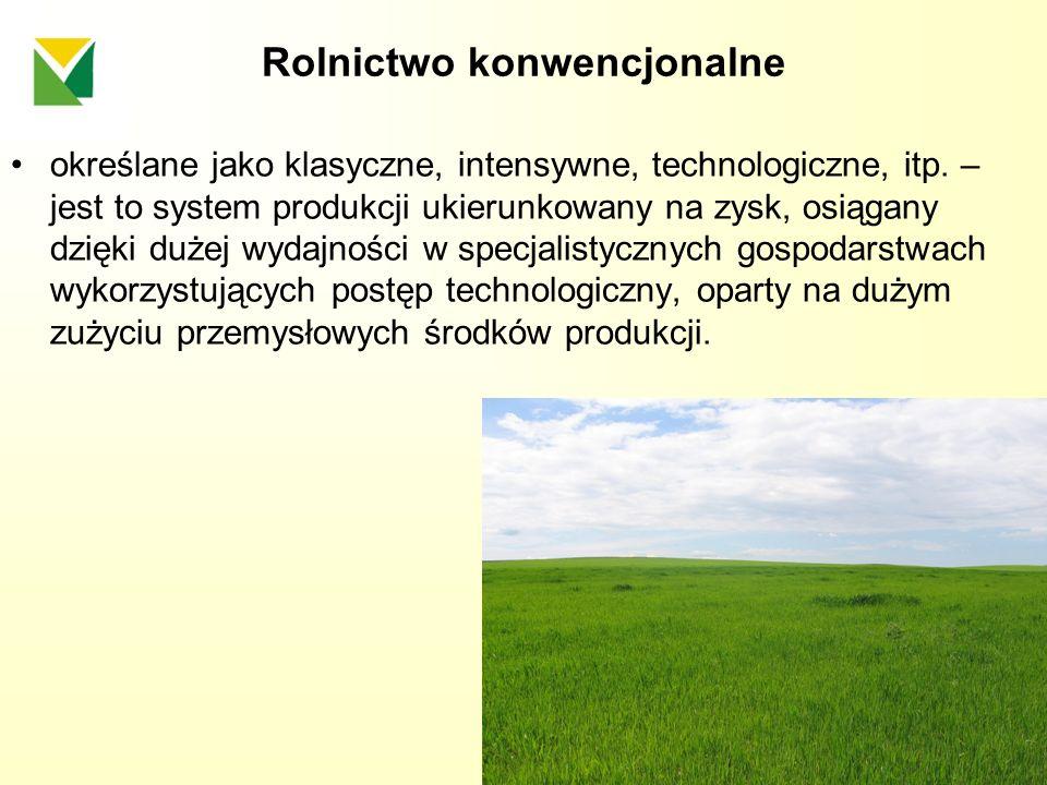 Rolnictwo konwencjonalne