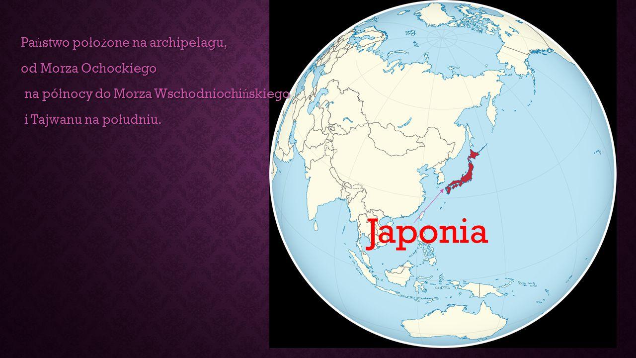 Państwo położone na archipelagu, od Morza Ochockiego na północy do Morza Wschodniochińskiego i Tajwanu na południu.