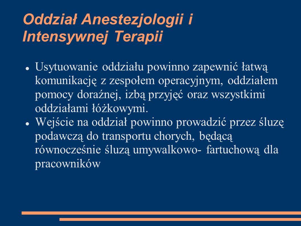 Oddział Anestezjologii i Intensywnej Terapii