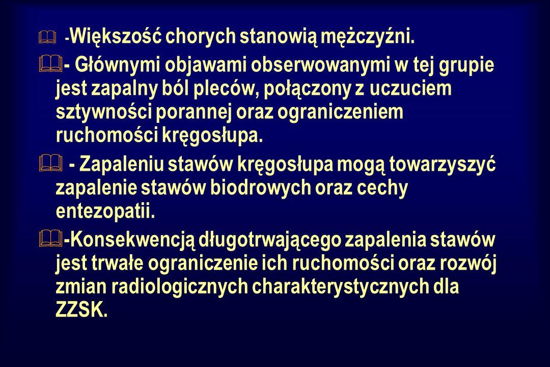 -Większość chorych stanowią mężczyźni.