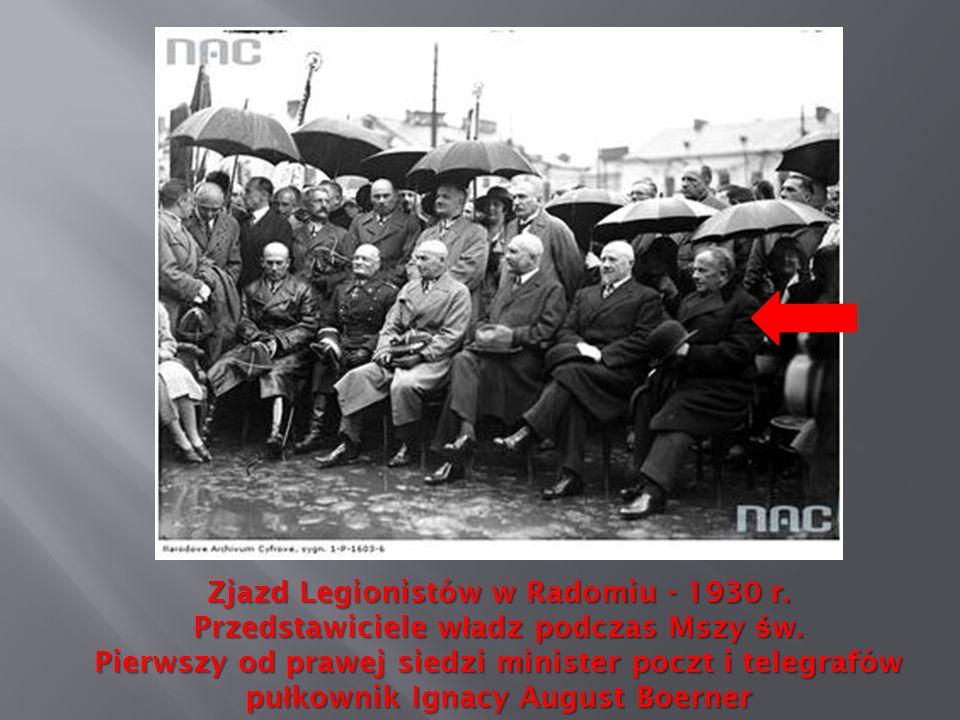 Zjazd Legionistów w Radomiu - 1930 r.