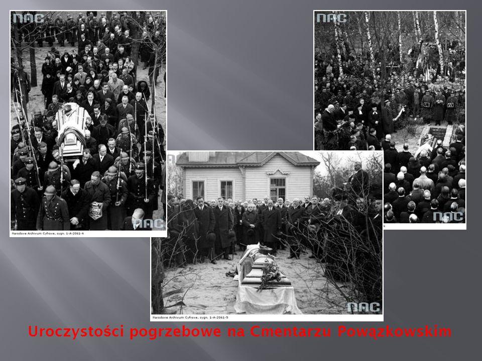 Uroczystości pogrzebowe na Cmentarzu Powązkowskim