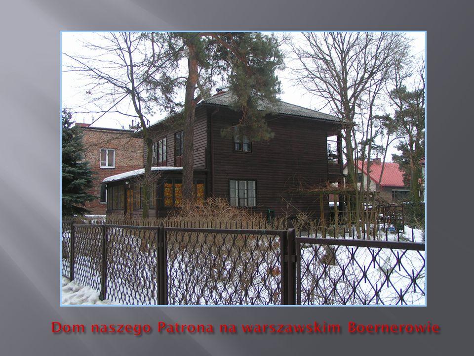 Dom naszego Patrona na warszawskim Boernerowie