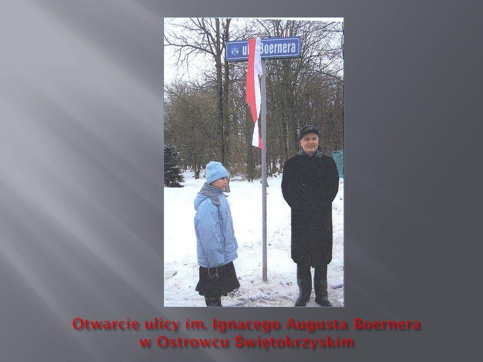 Otwarcie ulicy im. Ignacego Augusta Boernera w Ostrowcu Świętokrzyskim