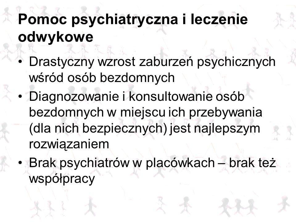 Pomoc psychiatryczna i leczenie odwykowe