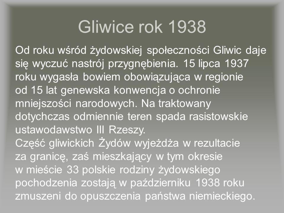 Gliwice rok 1938
