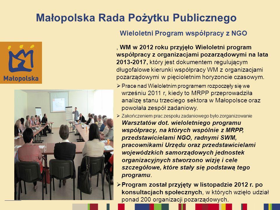 Małopolska Rada Pożytku Publicznego