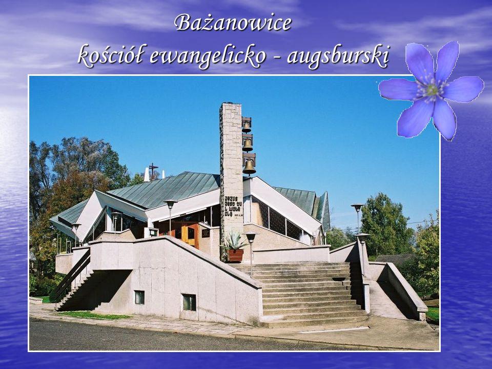 Bażanowice kościół ewangelicko - augsburski