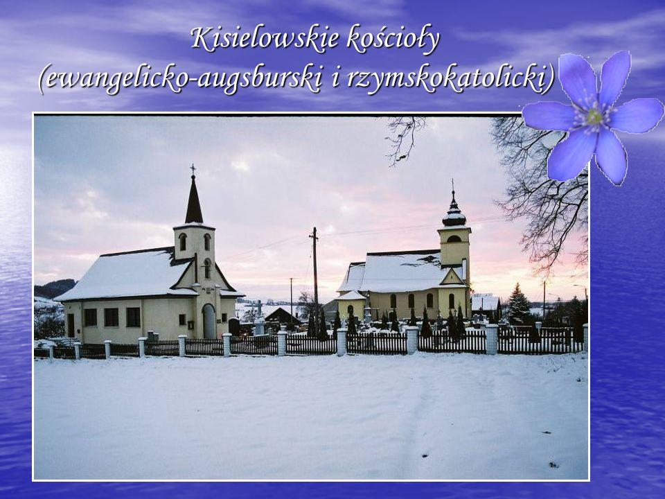 Kisielowskie kościoły (ewangelicko-augsburski i rzymskokatolicki)