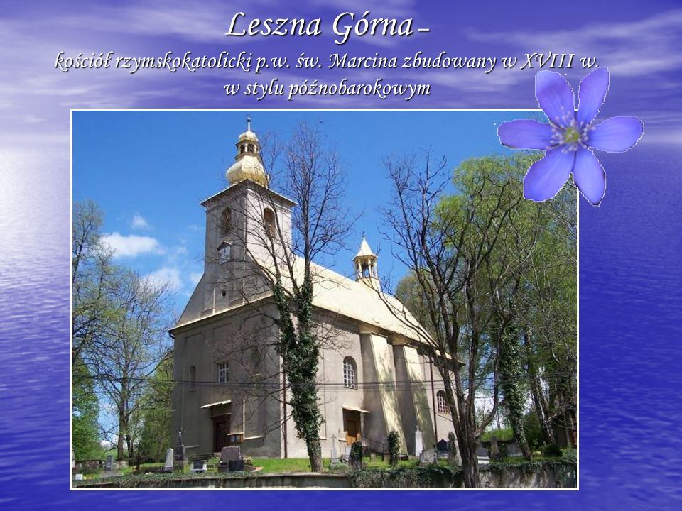 Leszna Górna – kościół rzymskokatolicki p. w. św