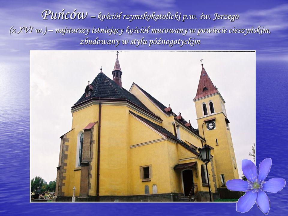 Puńców – kościół rzymskokatolicki p. w. św. Jerzego (z XVI w