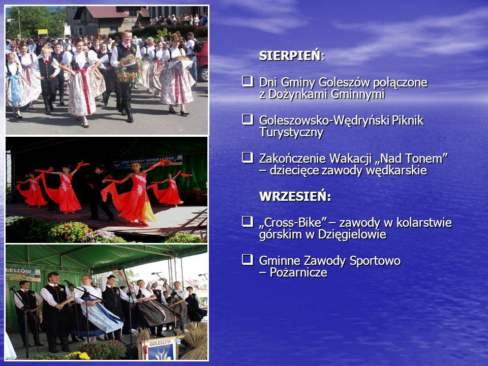 SIERPIEŃ: Dni Gminy Goleszów połączone z Dożynkami Gminnymi. Goleszowsko-Wędryński Piknik Turystyczny.