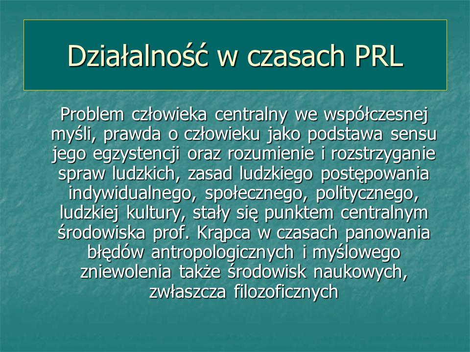 Działalność w czasach PRL