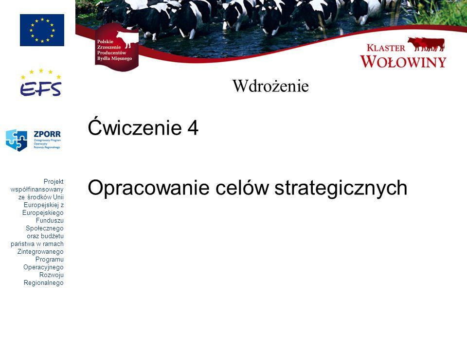 Opracowanie celów strategicznych