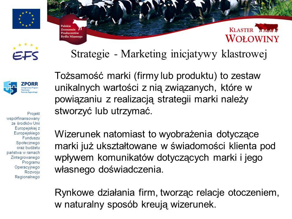 Strategie - Marketing inicjatywy klastrowej