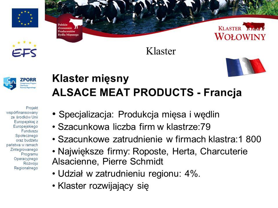 ALSACE MEAT PRODUCTS - Francja Specjalizacja: Produkcja mięsa i wędlin