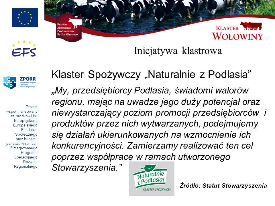 """Klaster Spożywczy """"Naturalnie z Podlasia"""