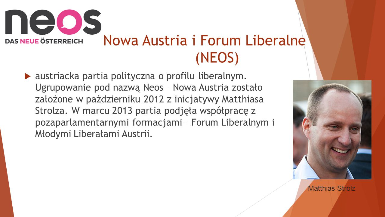 Nowa Austria i Forum Liberalne (NEOS)