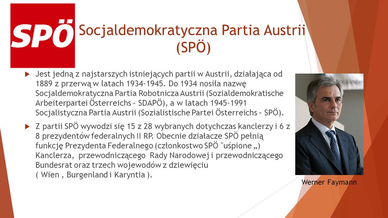 Socjaldemokratyczna Partia Austrii (SPÖ)
