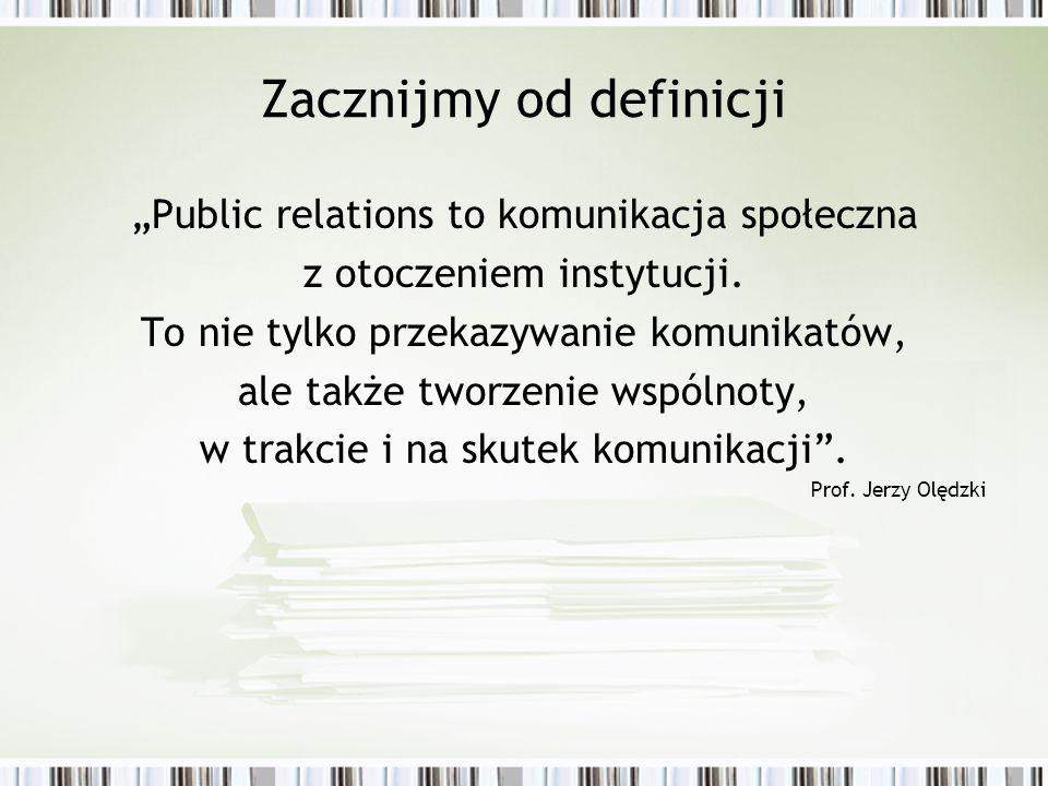 Zacznijmy od definicji