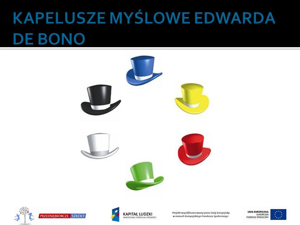 KAPELUSZE MYŚLOWE EDWARDA DE BONO