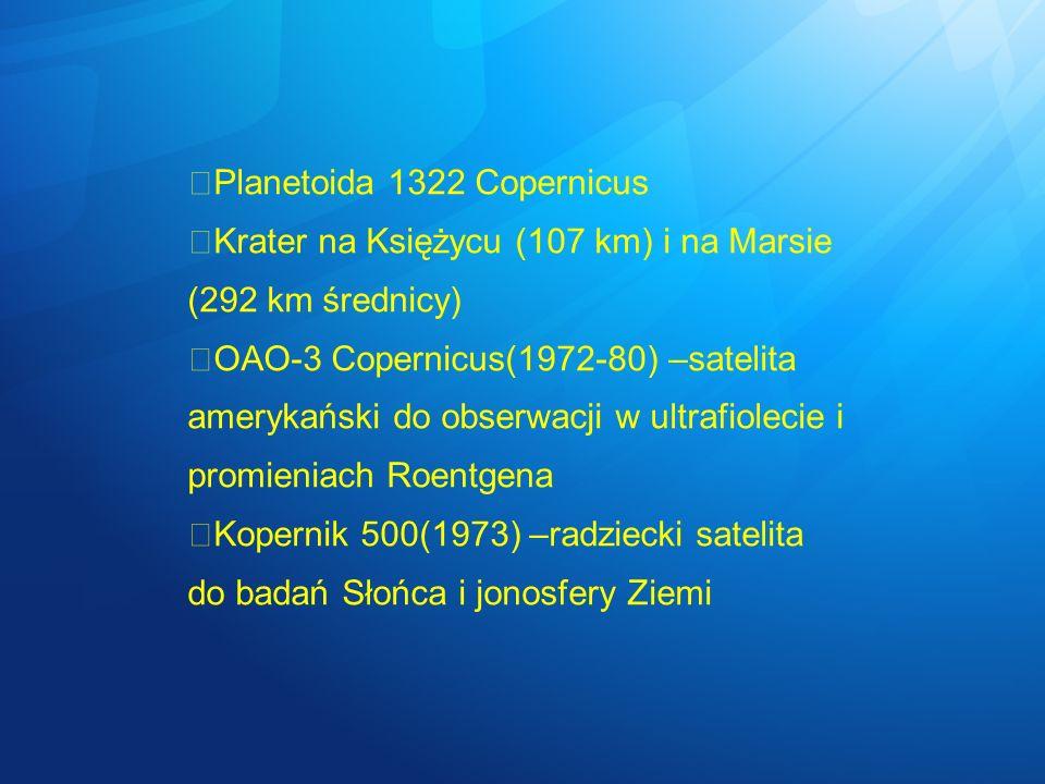Planetoida 1322 Copernicus