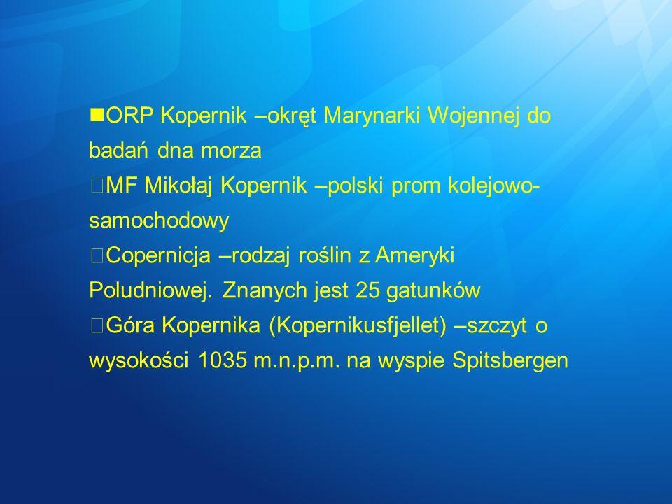 ORP Kopernik –okręt Marynarki Wojennej do badań dna morza