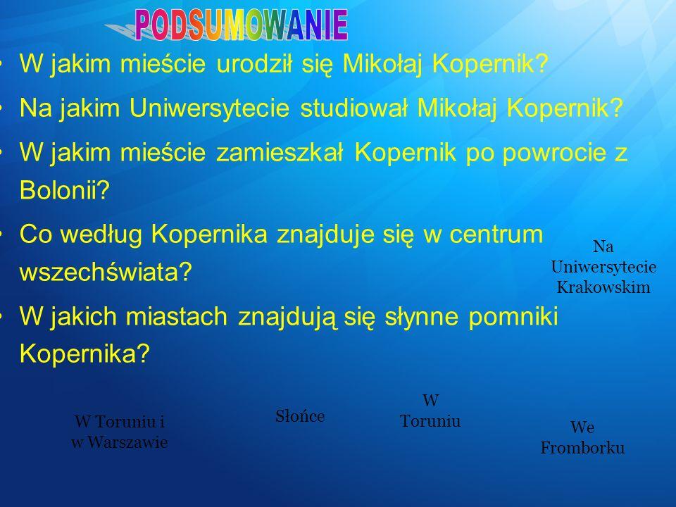 Na Uniwersytecie Krakowskim