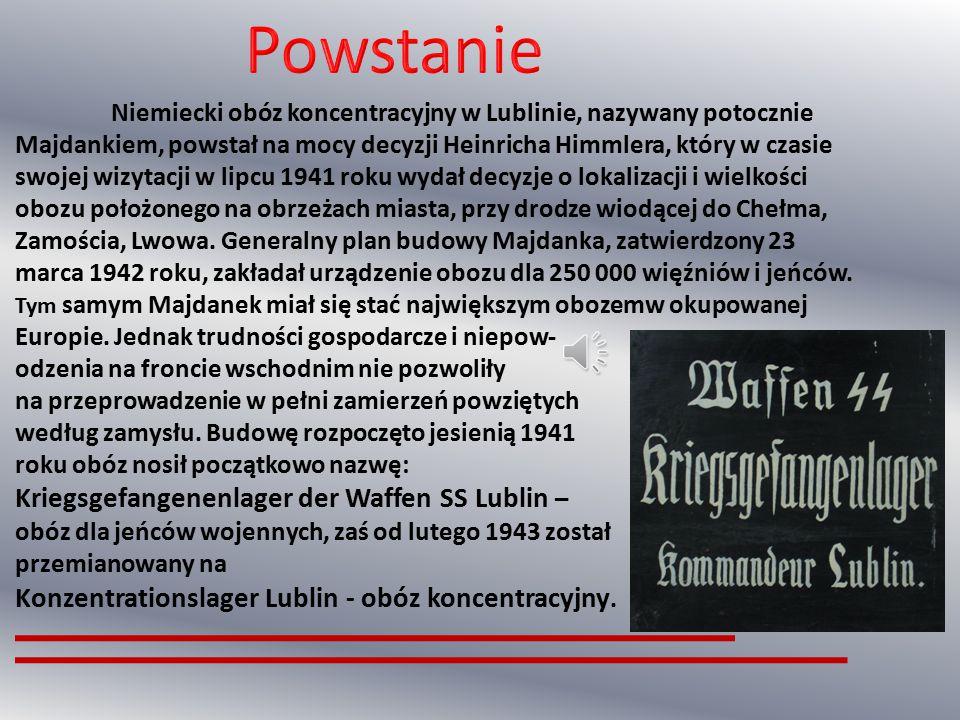 Powstanie Kriegsgefangenenlager der Waffen SS Lublin –
