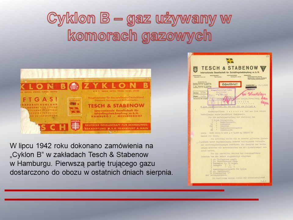 Cyklon B – gaz używany w komorach gazowych