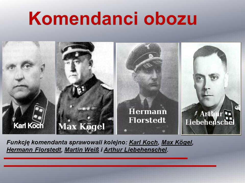 Komendanci obozu Karl Koch