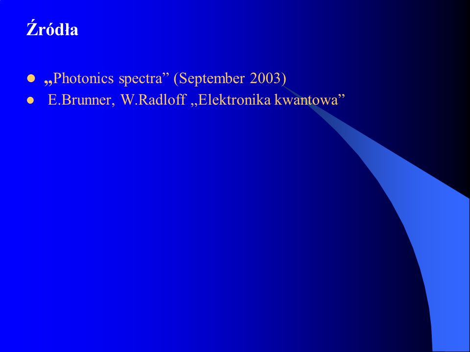 """Photonics spectra (September 2003)"