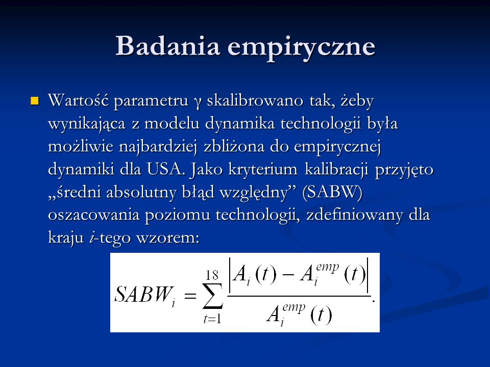 Badania empiryczne
