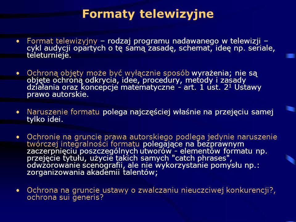Formaty telewizyjne