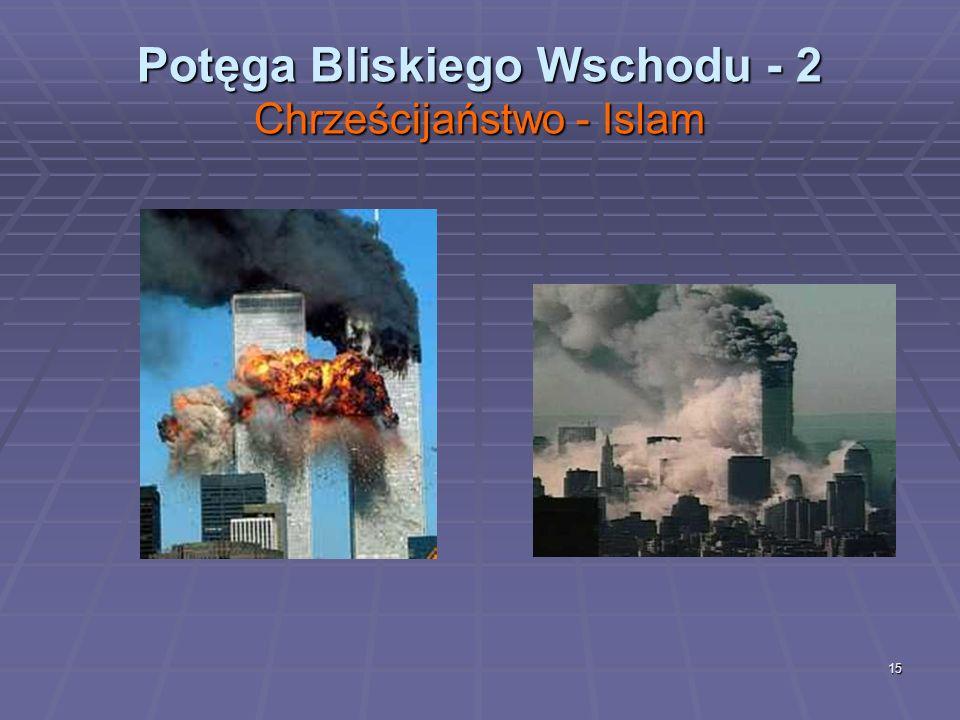 Potęga Bliskiego Wschodu - 2 Chrześcijaństwo - Islam