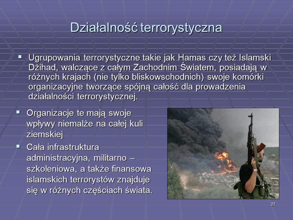 Działalność terrorystyczna