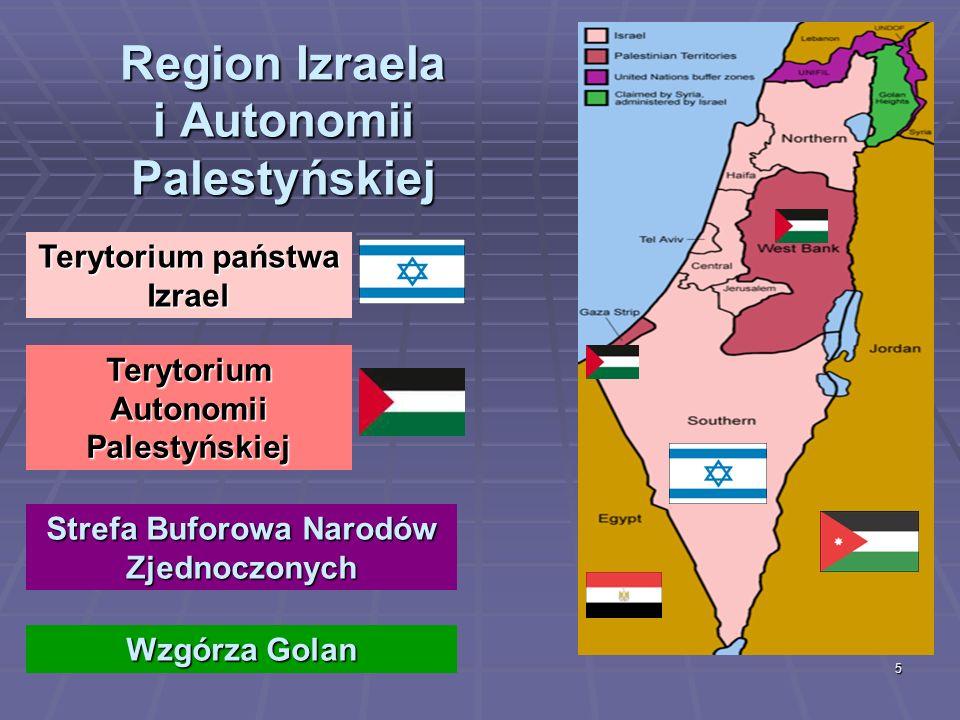 Region Izraela i Autonomii Palestyńskiej