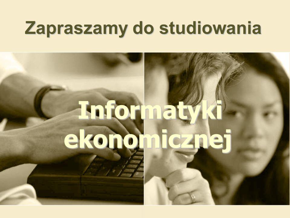 Informatyki ekonomicznej