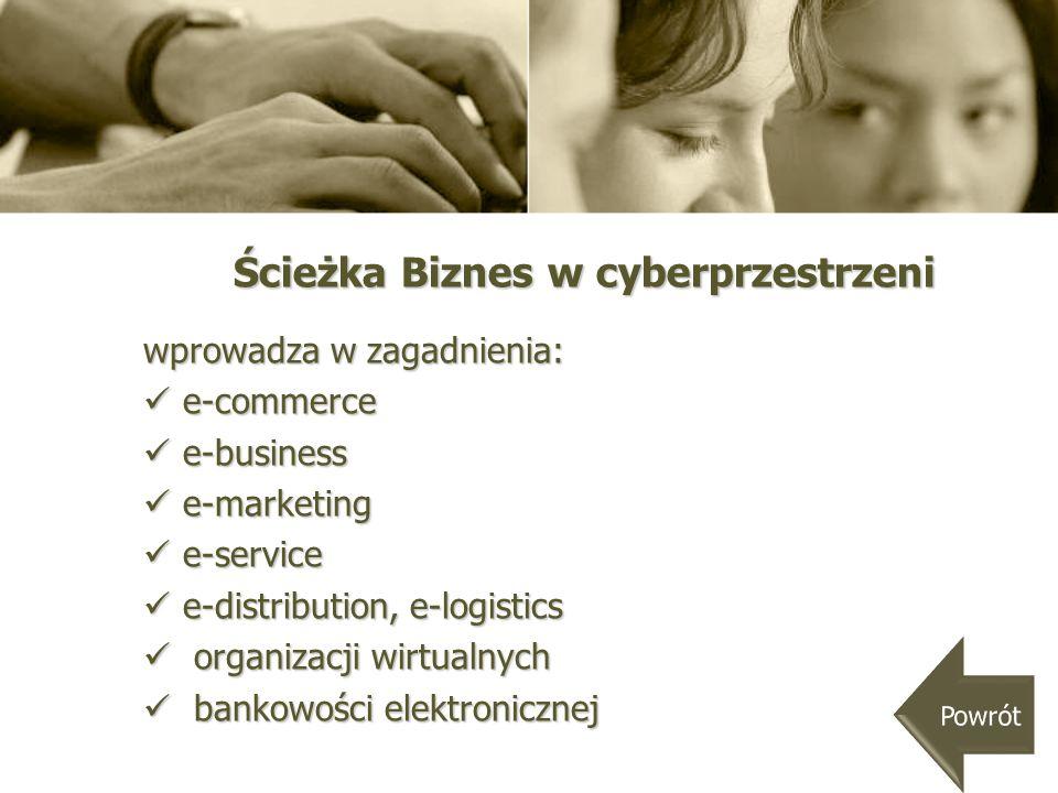 Ścieżka Biznes w cyberprzestrzeni