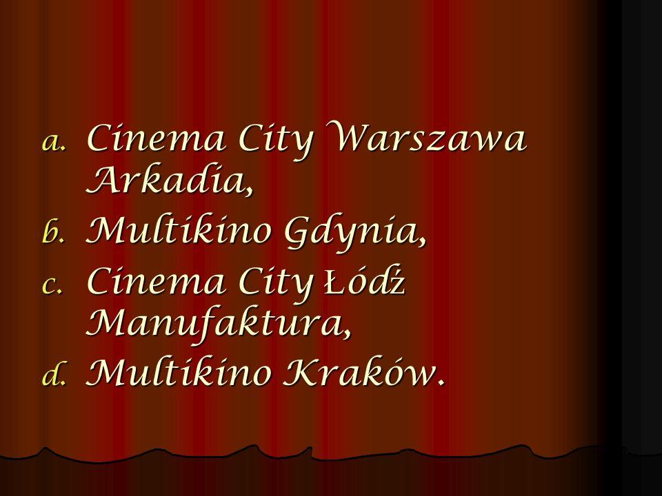 Cinema City Warszawa Arkadia,